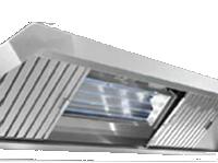 UV Kitchen Exhaust Hood