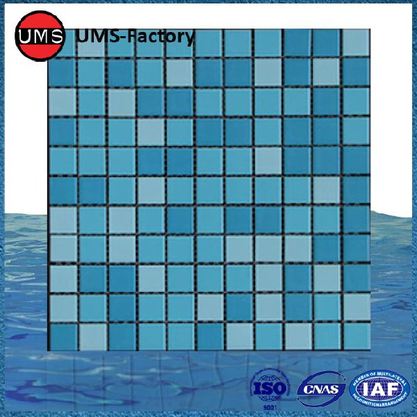 blue Swimming pool tiles Manufacturer in Zhongshan China by ...