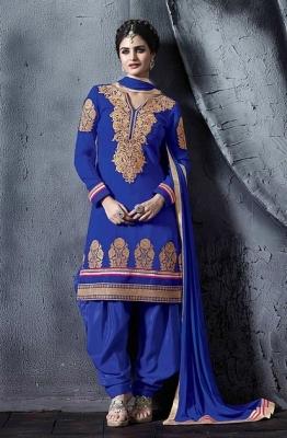 3ac43153990 Rani Pink Paper Foil Print Heavy Dhupian Partywear Patiala Suit For Girls  Wear Indiandress · Shop