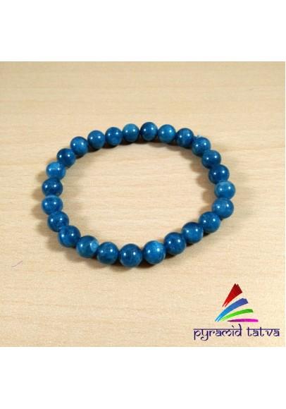 Apatite Bead Bracelet (ptb-5315)