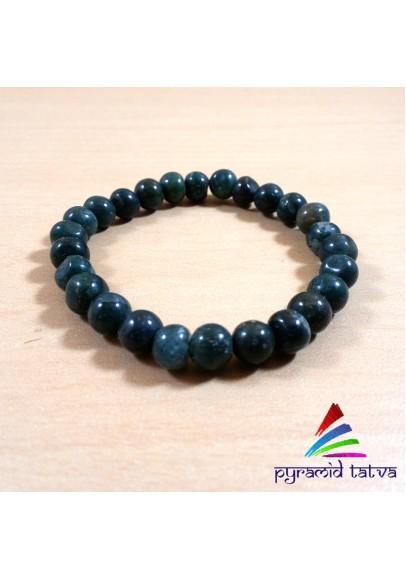 Bloodstone Bead Bracelet