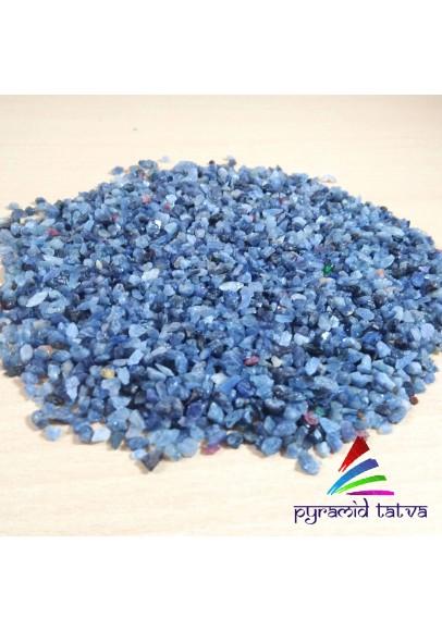 Blue Sapphire Granules Raw (PTT-23161)