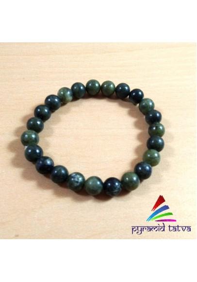 Chrysoprase Bead Bracelet (ptb-80)