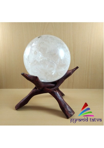 Clear Quartz Ball High Quality (ptb-8452)