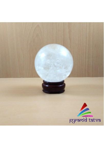 Clear Quartz Ball Standard (ptp-5724)