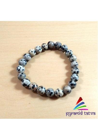 Dalmation Bead Bracelet (ptb-0423)