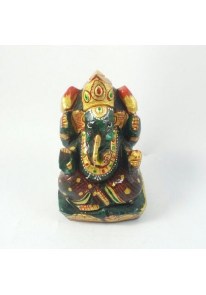 Green Jade Ganesh 111 Gm (ppc - 3)