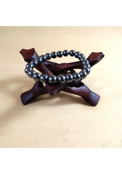 Hematite Beads Bracelet (ptt-548941)