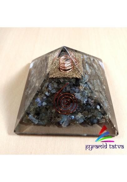 Labradorite Orgonite Pyramid (ptp-669)