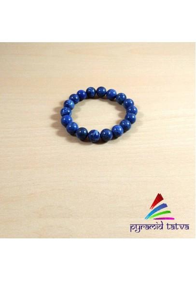 Lapis Lazuli Beads Bracelet (ptb-907)