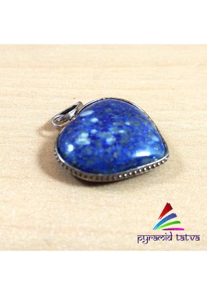Lapis Lazuli Heart Pendant (ptb-367)