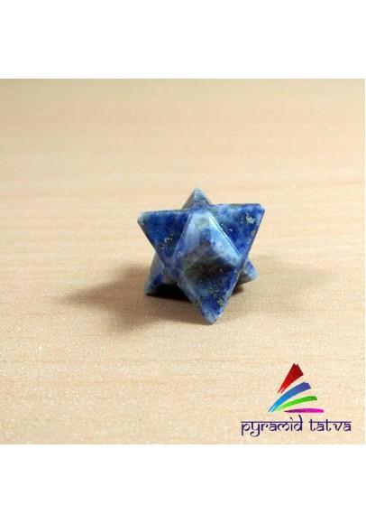 Lapis Lazuli Merkaba (ptm-49)