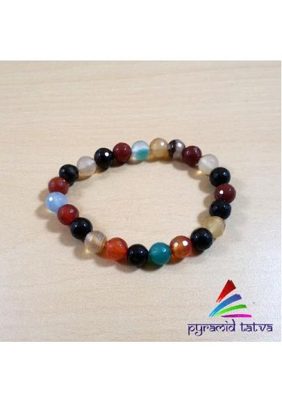 Mix Crystal Bead Bracelet (ptb-652)