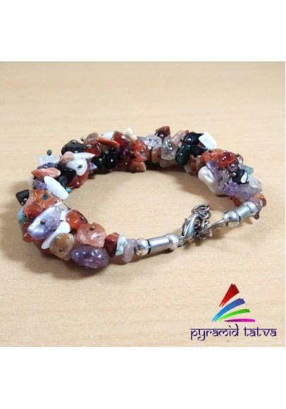 Mix Crystal Uncut Bracelet (ptb--48)