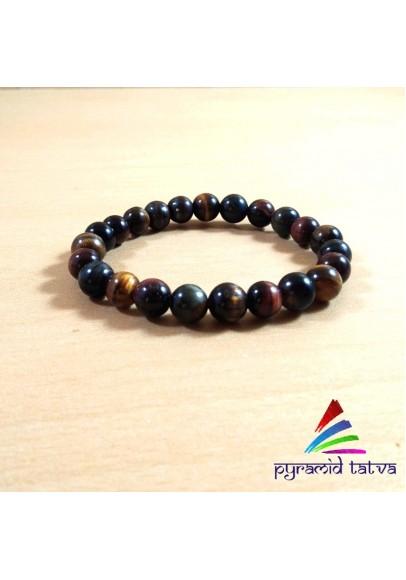 Mix Tiger Eye Bead Bracelet (ptb-96)