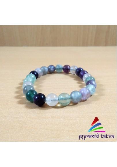 Multi Fluorite Bracelet (ptm-583)