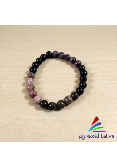 Multi Tourmaline Bead Bracelet (ptb-87)