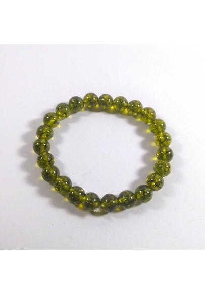 Peridot Beads Bracelet (ptt-56144)