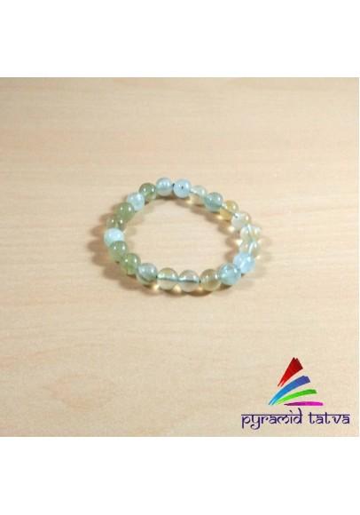 Prehnite Beads Bracelet (ptb-493)