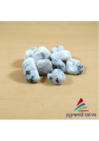 Rainbow Moonstone Tumbled Stone (ptt-27825)