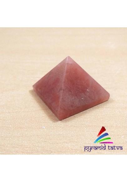 Red Aventurine pyramid (ptt-554612)