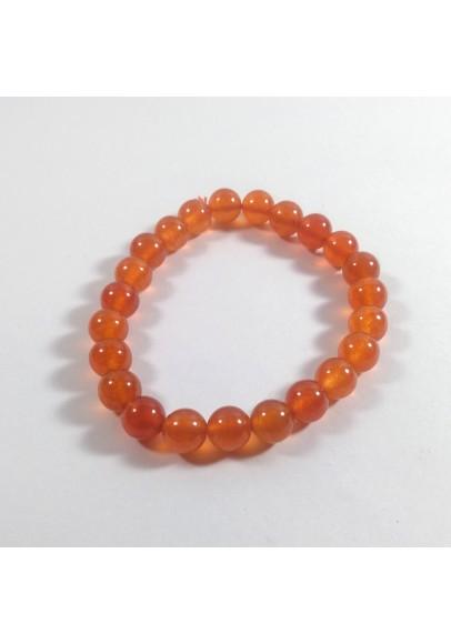 Red Jade Beads Bracelet (ptt-1168)