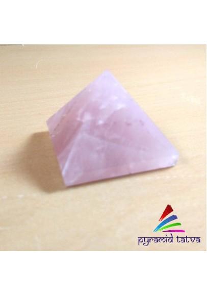 Rose quartz pyramid (ptp-583)