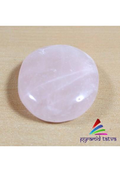 Rose Quartz Worry Stone (ptw-8946512)