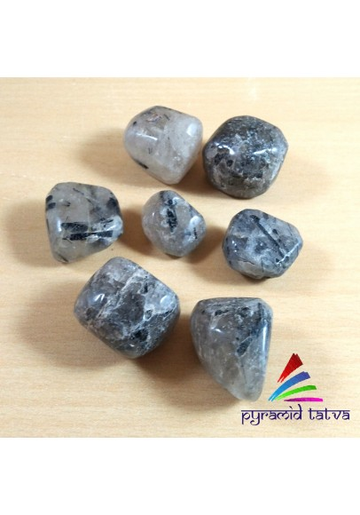 Rutiliated Quartz Tumbled Stone (ptb-513)