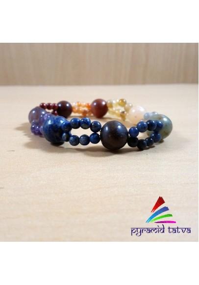 Seven Chakra Bead Bracelet 1 (ptb-844652)