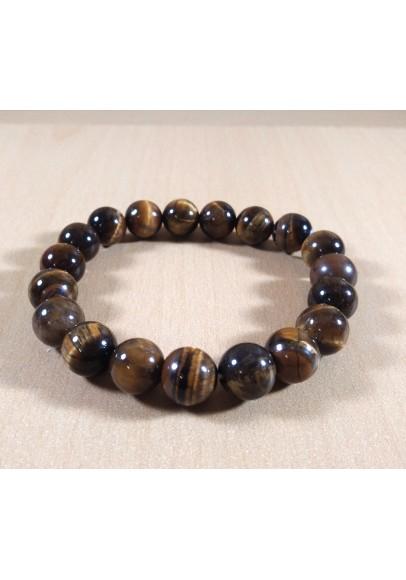 Tiger Eye Beads Bracelet (ptt-549894)