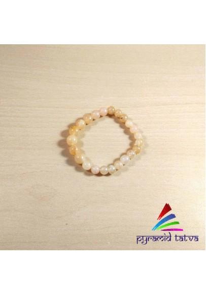 Yellow Aventurine Bead Bracelet (ptb-654)