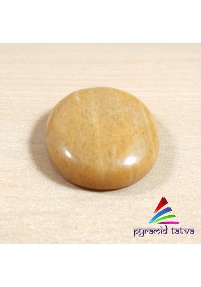 Yellow Aventurine Worry Stone (ptw-78465)