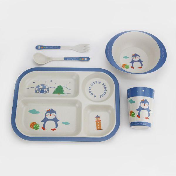Baby Dinnerware Bowl Plate Fork Spoon