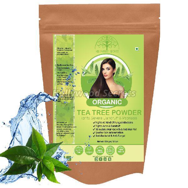 100% Pure Organic Antibacterial Tea Tree Powder For Face (100 Gms)