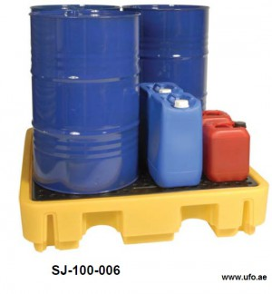 drum spill container chemical resitant