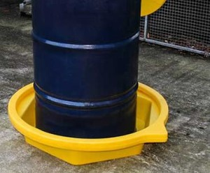 drum clamp tray