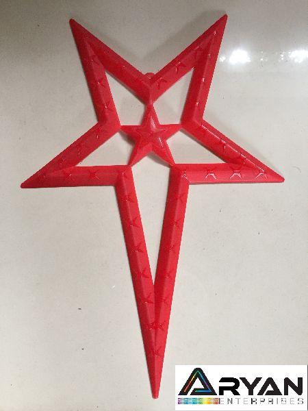 CHRISTMAS STAR - RED