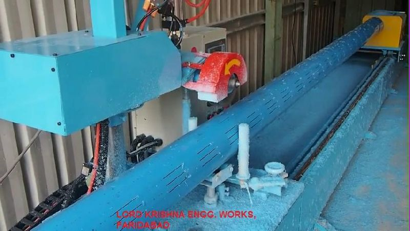 Automatic PVC Pipe Drilling Machine
