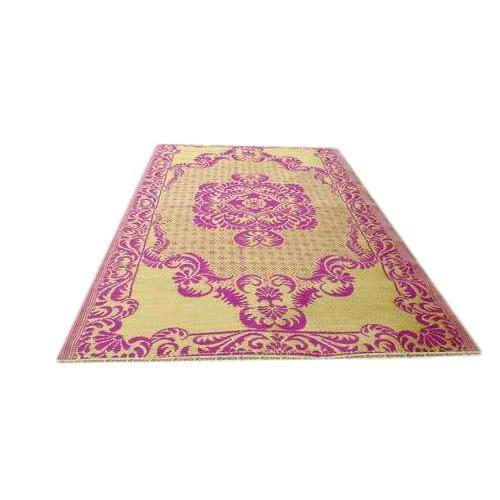 Light Pink Printed Floor Mats