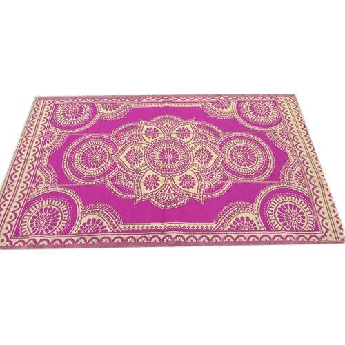 Pink Printed Floor Mats