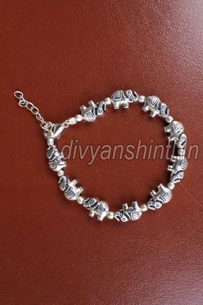 Antique Elephant Bracelet