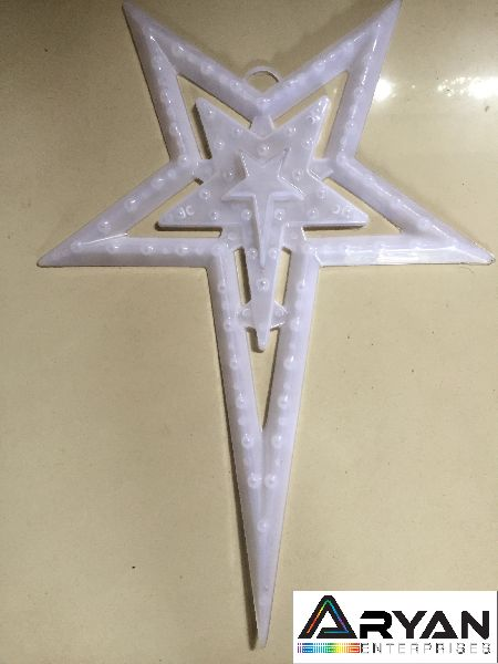 CHRISTMAS STAR - DOUBLE LAYER - TRANSPARENT