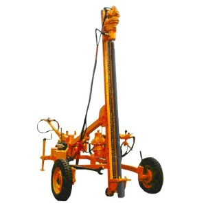 Tyre Mounted Wagon Drill