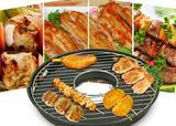 ENAMEL NON STICK EXCELLENT ENAMEL COATING BBQ GAS GRILL PAN
