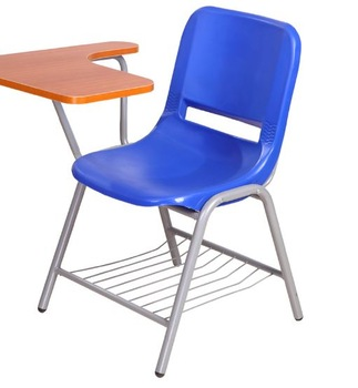 chairs with tables attached