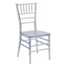 Crystal Clear Ice Resin Chiavari Chair