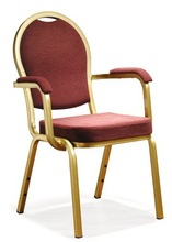 Steel Banquet Chair with Arms