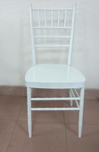 white Steel Chiavari Chair