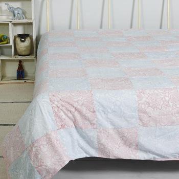 linen white background summer ac blanket